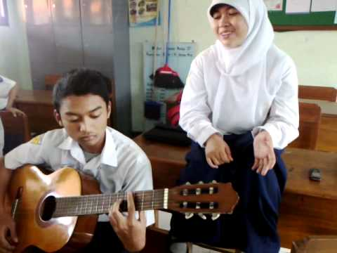 gaby - begitu indah cover by vania and iqbal (amateur)