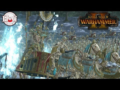 Rise of the Tomb Kings - Total War Warhammer 2 - Battle for the Crown of Nehekhara |