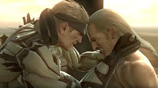 Metal Gear Solid 4 - Old Snake VS Liquid Ocelot (Final Boss Fight)