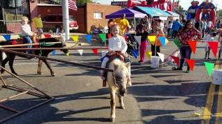 Riding Ponies @ The Syrup Festival in Henderson Texas 2016