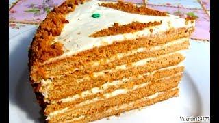 Вкусно - Торт #МЕДОВИК Старинный  #Рецепт Медового Торта  Рецепты ТОРТОВ