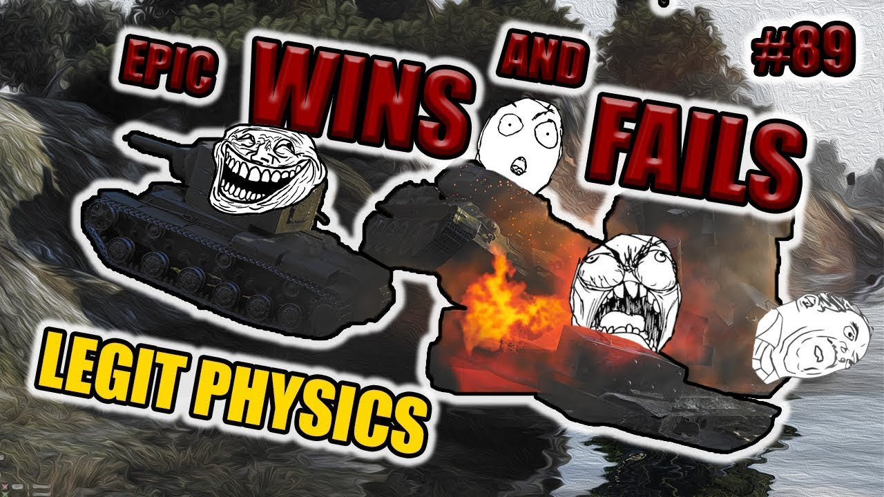 World of Tanks – Epic wins and fails [Episode 89]