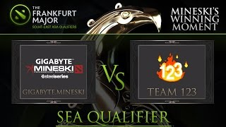 [DOTA 2] GIGABYTE.Mineski Highlights 24 - Mineski vs Team 123 - Ep.4
