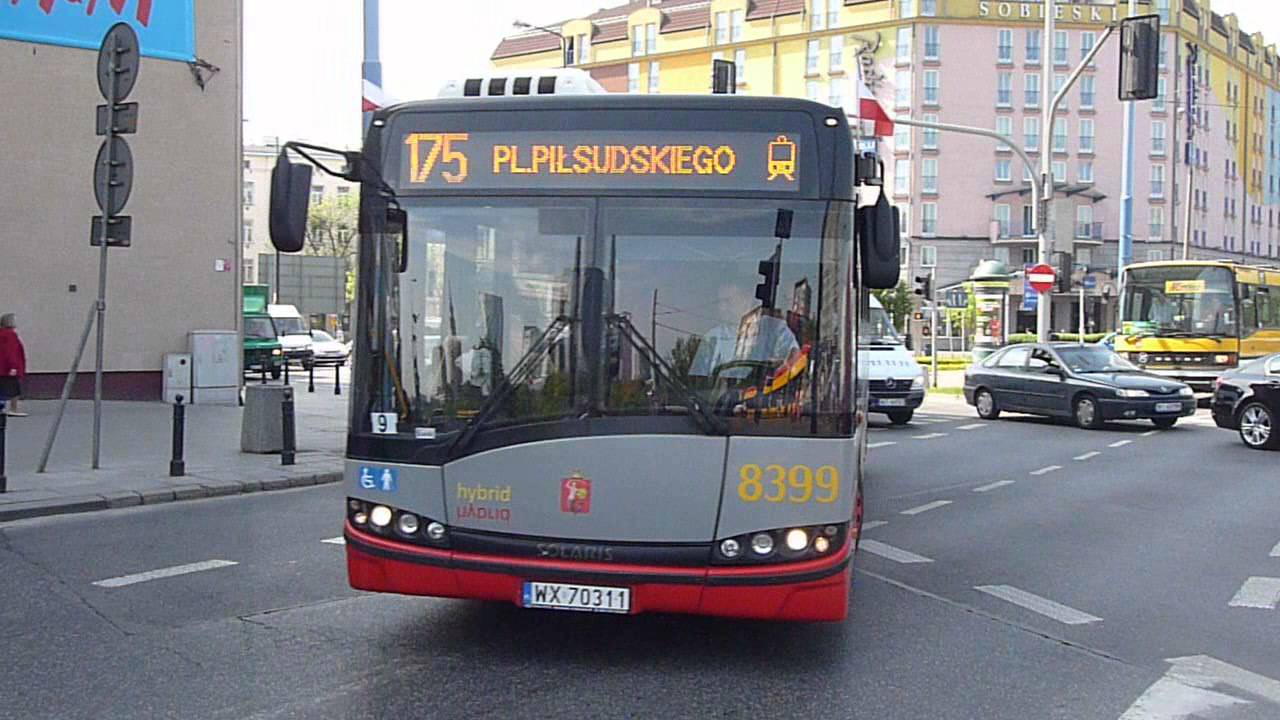 Solaris Urbino 18 Hybrid #8399 Z MZA Warszawa