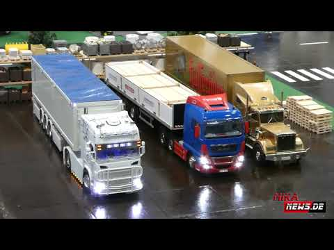 Truck Modellbau auf der modell hobby spiel in Leipzig