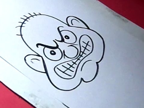 Drawing An Angry Face