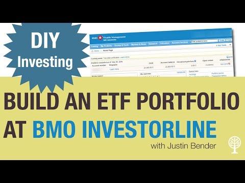 How to Build an ETF Portfolio at BMO Investorline