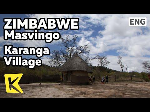 【K】Zimbabwe Travel-Masvingo[짐바브웨 여행-마스빙고]카랑가, 쇼나 족 마을/Karanga Village/House/Shona/Melody