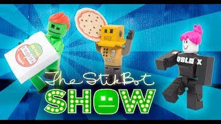 The Stikbot Show 🎬 | The one with Roblox