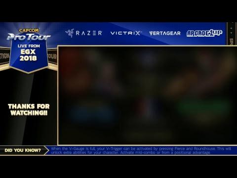 EGX 2018 - Day 3 - Capcom Pro Tour 2018