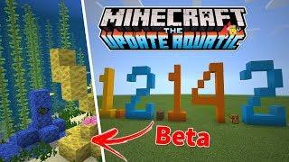 ⭐️Tudo que Chegou no Minecraft 1.2.14.3 Beta🐟(Update Aquatic)