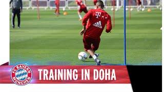 FC-Bayern-Torschusstraining in Doha