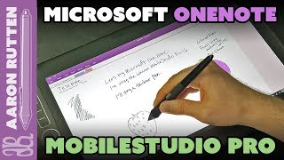 Microsoft OneNote on Wacom MobileStudio Pro 16 (Viewer Question)