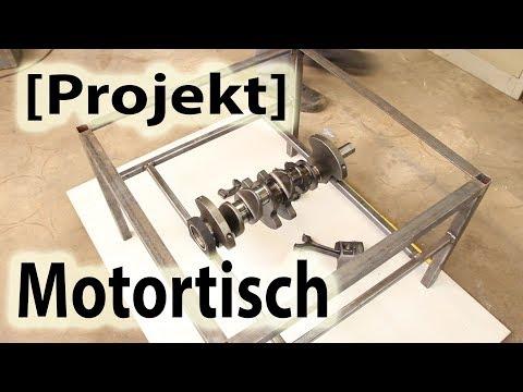 [Projekt] Motortisch - Teil 1