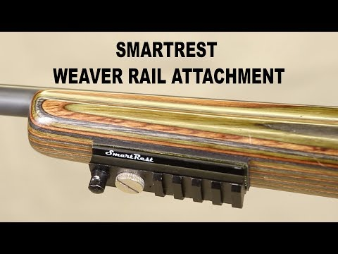 SmartRest Weaver Rail rifle attachment by EagleyeHG