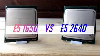 CPU battle: Xeon e5 1650 vs e5 2640 in 10 games