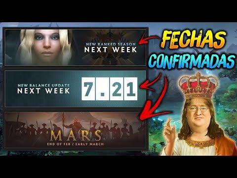 FECHAS CONFIRMADAS !!! RECALIBRACION DE MEDALLAS, PARCHE 7.21 Y MARS 😱 | Dota 2 thumbnail