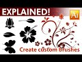 How to Create Custom Brushes in - Adobe Illustrator Tutorial - 05