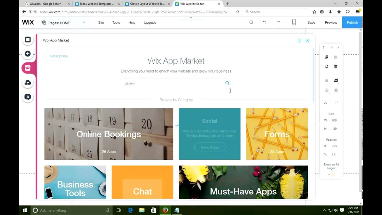How to change Wix templete - YouTube