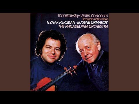 Violin Concerto in D Major, Op. 35: II. Canzonetta (Andante)