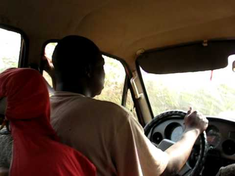 Car Ride and bad singing in the Central African Republic
