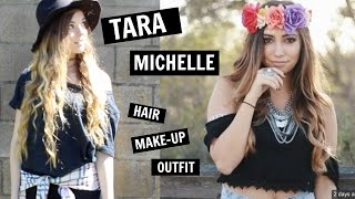 Tara Michelle Inspired: Hair, Make up & Outfit