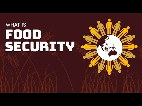 Does Australia have 'food security?'