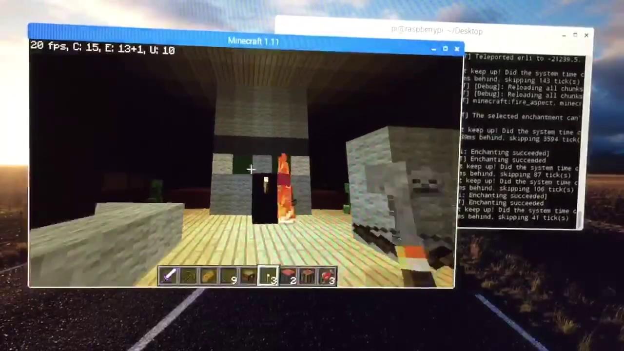 Minecraft On Raspberry Pi YouTube - Raspberry minecraft spielen