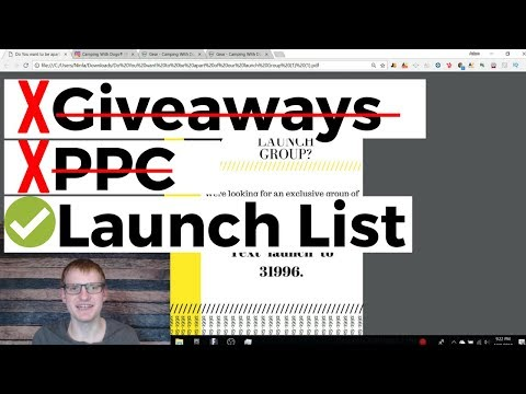 Sell 50 Units Your FIRST Day With A LAUNCH LIST Without Giveaways Or PPC (Product Launch Strategy)