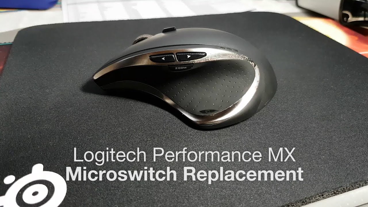 29d6025b76a Logitech Performance MX Double Click Fix - Microswitch Replacement ...