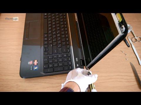 Замена матрицы ноутбука HP G6