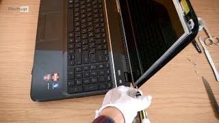 Замена матрицы ноутбука HP G6(Замена стандартной матрицы 15.6, ноутбук HP Pavilion G6 2000 серии., 2014-12-06T12:59:49.000Z)