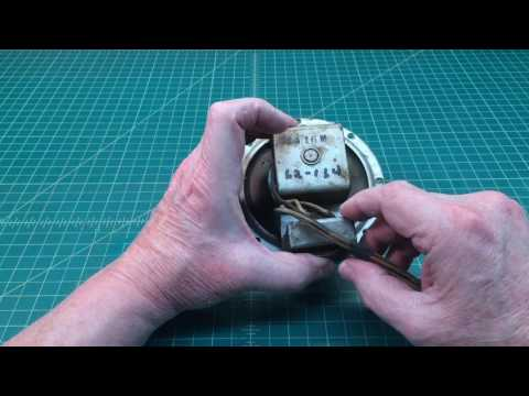 Speaker Evaluation for a Fellow Restorer of Old Radios