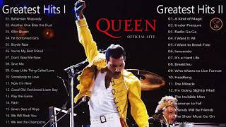 Queen - Greatest Hits I & II album - cover lagu-lagu terbaik dari Queen