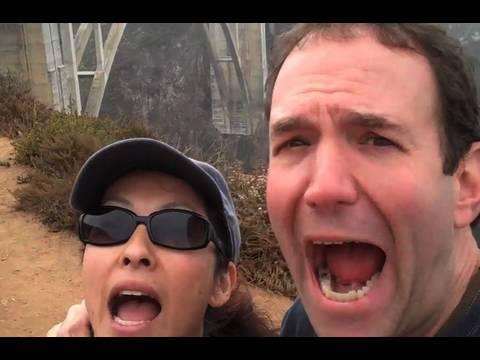 BROKEN ANKLE!!! (Big Sur, CA vacation accident)