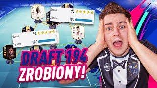 DRAFT 194 ZROBIONY! PIERWSZY NA POLSKIM YOUTUBE! FIFA 19 JUNAJTED