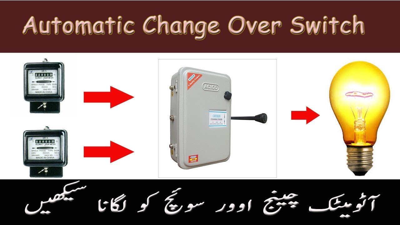 Automatic Change Over Switch Auto Transfer Switch For