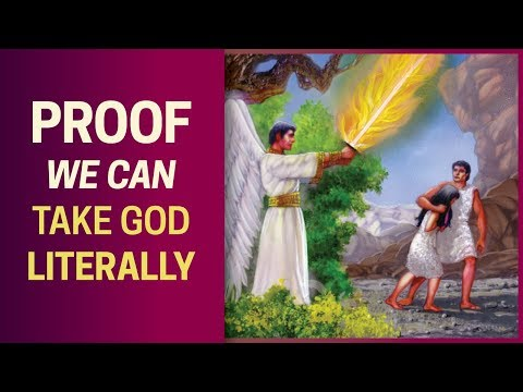 Proof We Can Take God Literally