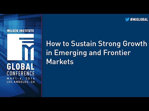 How to Sustain Strong Growth in Emerging and Frontier Markets