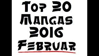 Top 20 Manga 2016 Februar