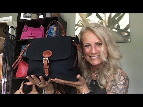 Bag Review: Dooney & Bourke Nylon Flap Backpack