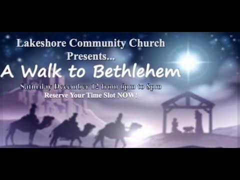 LCC's Walk to Bethlehem Post-event report, Dec 2020