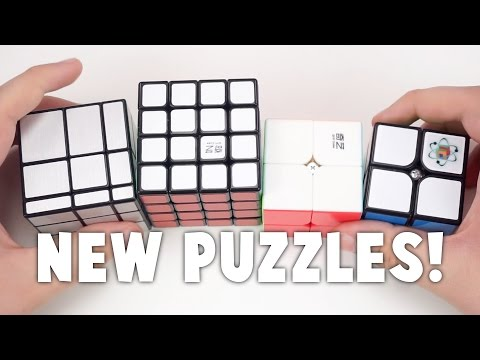 Magnetic 2x2, QiYi Mirror Blocks, and More! | TheCubicle.us Unboxing