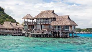 Presidential Suite at the Hilton Nui Resort in Bora Bora
