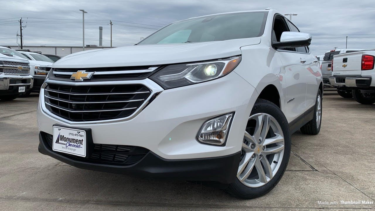 2019 Chevrolet Equinox Premier 1 5l Turbo Review Youtube