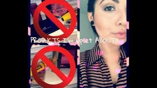 PRODUCTS I'm Upset about that I've PURCHASED!!! Thumbnail