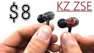 KZ ZSE Review - Dual Dynamic Driver Earphones $8