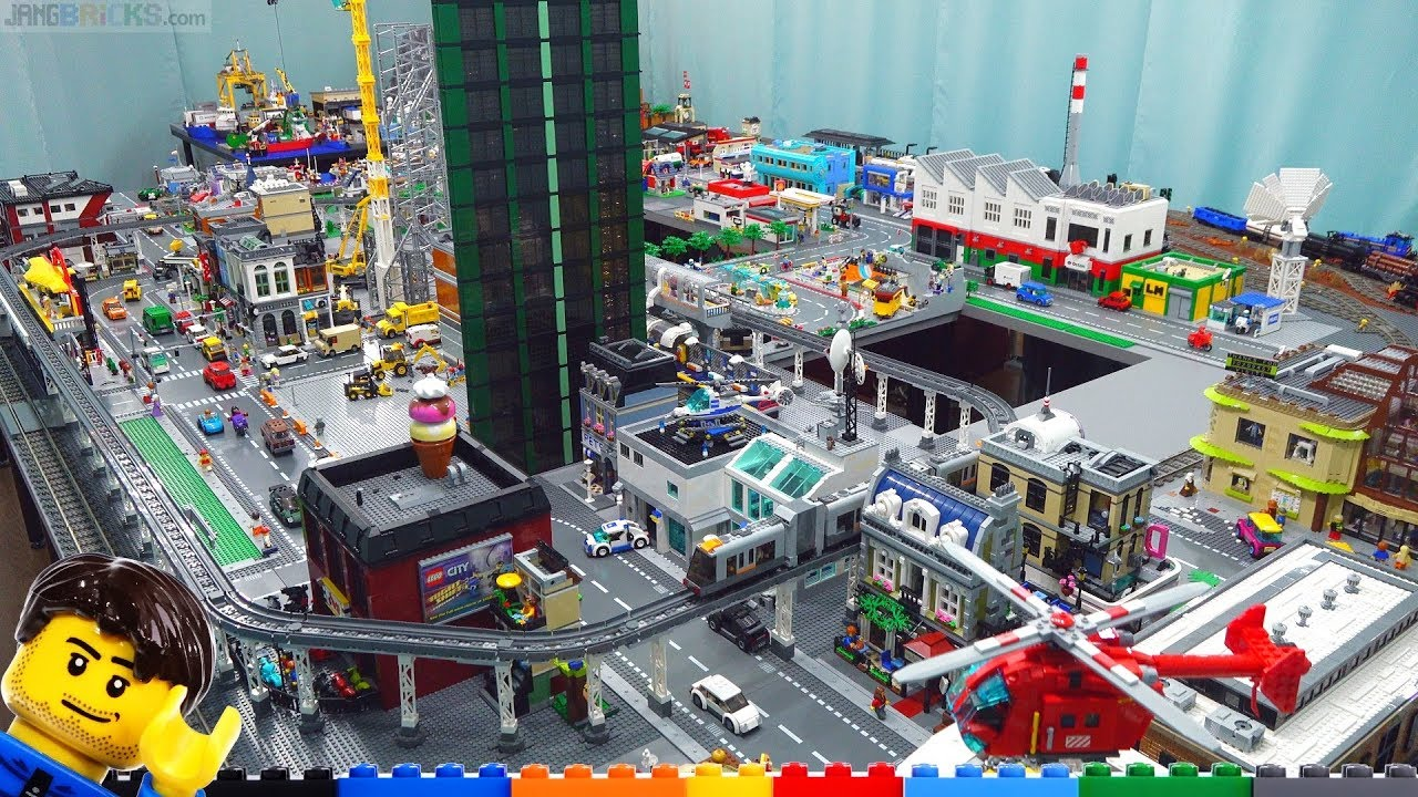 Big LEGO City changes made! Update April 15, 2019