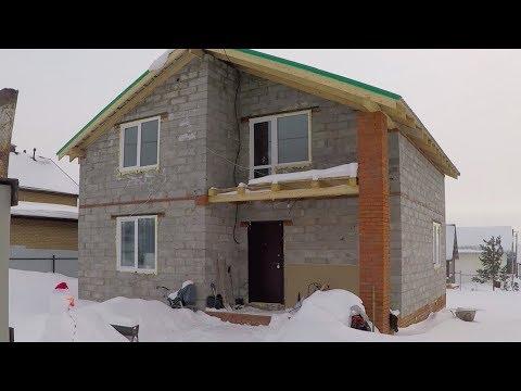 Проблемы дома из пеноблока 160 м2. Как выявить теплопотери дома