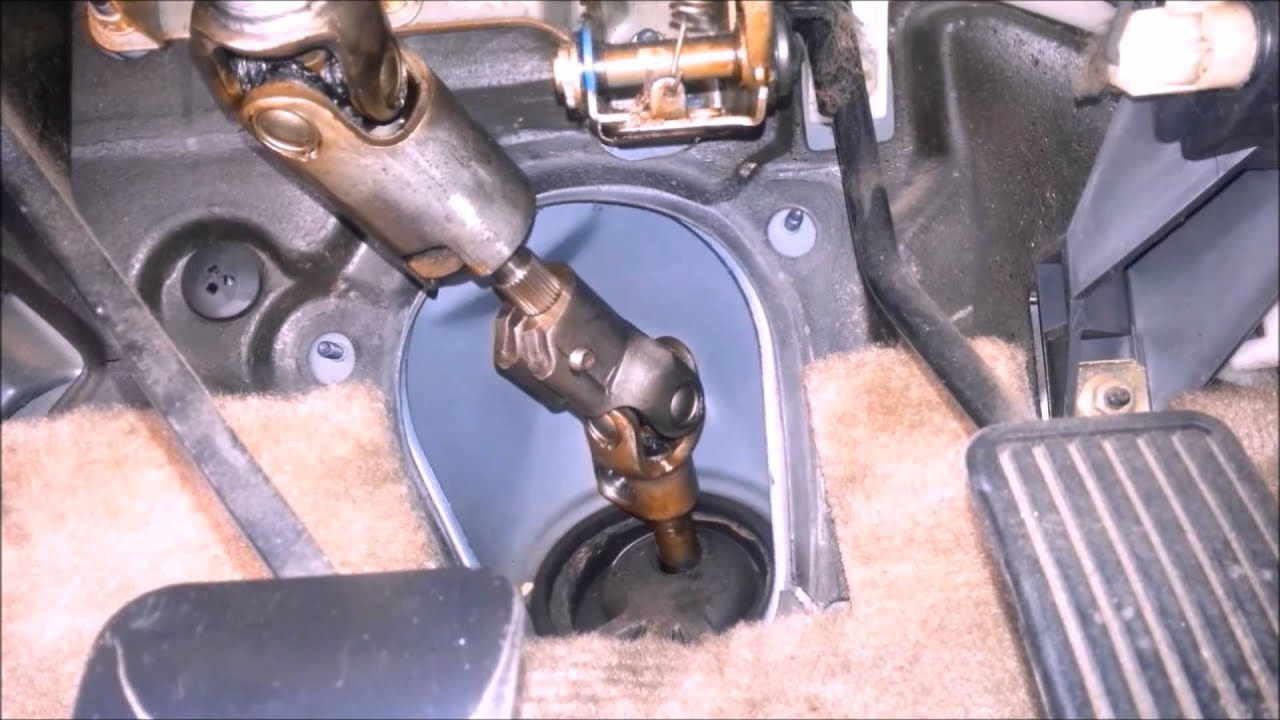 How to remove the steering rack 26